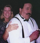 Dorothy Miller Cunningham and DJ Jim Cunningham