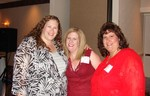 Diana Davidson, Jen Ahearn, Debra Cassar